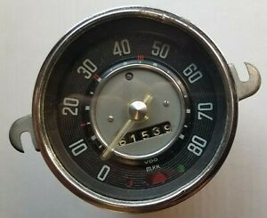 1957 1958 1959 1960 1961 Vw Speedometer Part 111957023 wo 80 8 58 Bench Tested