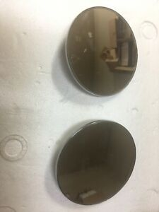 Mgb New Set Right And Left Classic Style Door Fender Mirrors Mg Mgb Gt