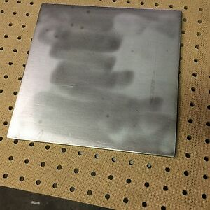 10 x10 1 4 316 Stainless Steel 316l 316 Sst Stainless Steel Plate 1 Pcs