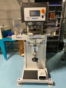 Two Color Kent Pad Printer With Viscosity Tester Conveyor Dryer complete Setup