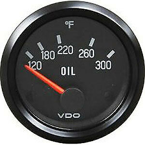 Vdo Oil Temp Gauge 300f
