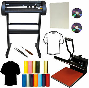15x15 Flat Heat Press 28 500g Metal Vinyl Cutter Plotter heat Transfer Paper Pu
