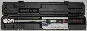 Snap On Tools Atech3fr250b 1 2 Drive Digital Torque Wrench