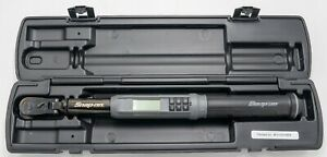 Snap On Tools Atech2f125vk 3 8 Drive Digital Torque Wrench 5 125 Ft Lbs