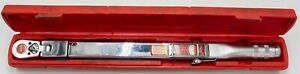 Snap On Tools Tqfr250a 1 2 Drive Torque Wrench
