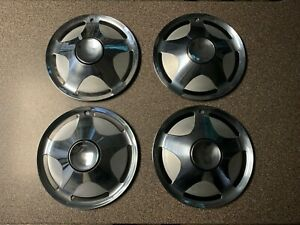 Avanti Ii Hubcaps Studebaker Set Of 4 Oem Hubcaps 15 Wheel Covers
