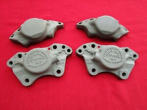 Pair Front Brake Calipers Type 16p Sunbeam Alpine Tiger Parts Or Restoration
