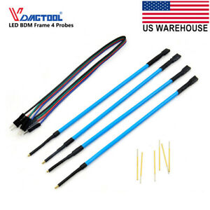 Led Bdm Frame Probe Pens Pins Full Set For Kess Ktag Fgtech Chip Tuning Tool Usa