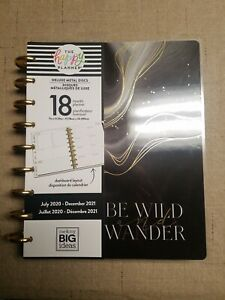 New Day Happy Planner Classic Planner 18 Month Be Wild And Wander