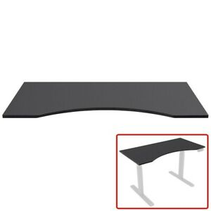 5 X 2 46 Table Top For Sit Stand Desk Height Adjustable Home Office Black