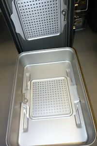 V Mueller Genesis 5 Deep Full length Sterilization Container With Flash Pan