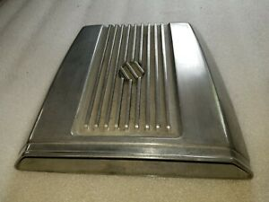 Original Vintage Cal Custom shaker Finned Hood Scoop Rat Rod Pro Street Rod