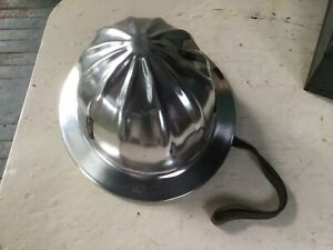 Vintage Superlite Aluminum Hard Hat By Fibre metal Made In U s a