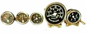 Willys Jeep Speedometer 60 100 Mph Gauges Kit Fits