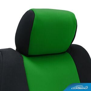 Coverking Synergy Green Genuine Neoprene Rear Seat Covers For Chevy Camaro 5