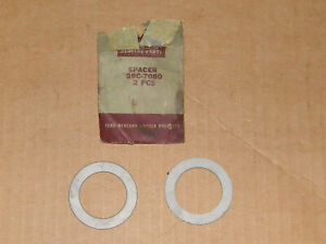 Nos Ford 1939 52 Flathead Engine Washers 59c 7080