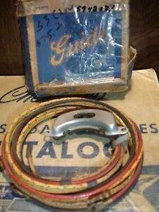 Nos 1953 1954 Chevrolet Turn Signal Switch With Wires Guide 5944127 5942021
