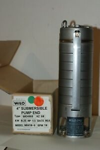 Wilo 4 Inch Wilo Emu Submersible Pump 25kw 3 Hp Open Box