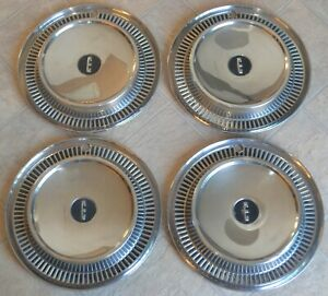 1959 1960 Ford Edsel Hubcaps Set Of 4 14 Wheel Covers Ranger Corsair Villager