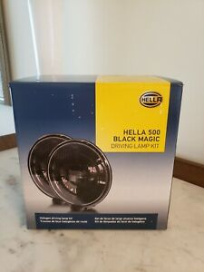 Hella 500 Series Black Magic 6 5 Inch Light 005750991 X 2 Units Box Dealer