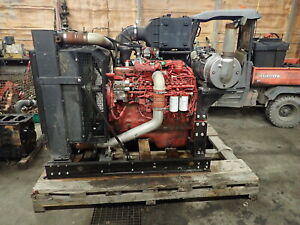 2014 Cummins Qsl 9 Turbo Diesel Engine Power Unit Video Low Hours 8 9 Isl