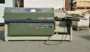 Scmi K203 Edgebander With Scraping And Buffing new Lower Price