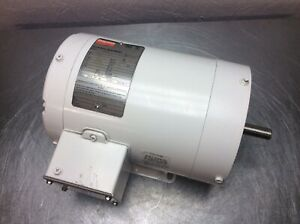Dayton Washdown Duty Electric Motor 1trz9 Tenv 1 Hp 3450rpm 208 230 460v 3ph