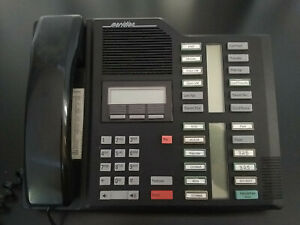 Vintage Black M7324 Nortel Norstar Meridian M7324 Home office Phone