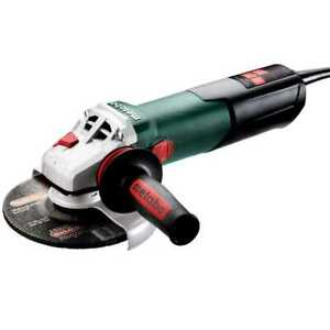 Metabo 603632420 6 Angle Grinder W lock on 10 000 Rpm 12 0 Amps New