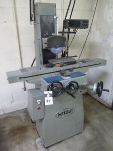 6 X 12 Mitsui Msg 205mh High Precision Hand Surface Grinder