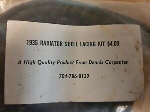 1936 1935 Ford Radiator Shell Lacing Kit