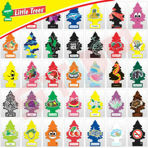 Little Trees Air Freshener Car Home Office Air Freshener 3 Pack Every Scent