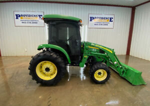 John Deere 4520hst Cab Utility Tractor With Ac heat