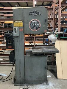 Doall Dbw 15 Vertical Contouring Metal Bandsaw 3 Phase