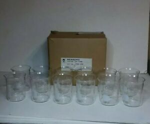 Bomex Griffin Low Form Glass Beakers 250 Ml Set Of 12
