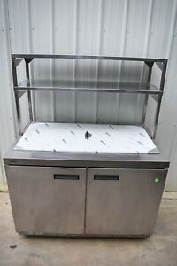 2018 Delfield 4448n 18m 48 Refrigerated Prep Table