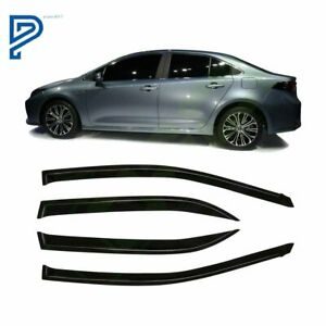 For Toyota Corolla 2009 2013 Window Visor Vent Shade Modern Style 4pcs