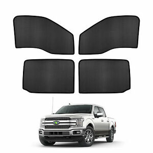 Car Window Sun Shades Side Sun Visors For Ford F 150 2015 2017 2018 2019 2020