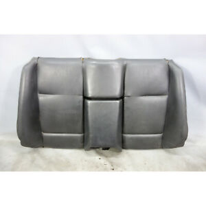 Bmw E36 3 Series Convertible Rear Seat Back Black Leather 1994 1999 Used Oem