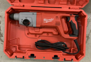 Milwaukee 5262 21 8 Amp Corded 1 Sds Plus Rotary Hammer In Case Great Shape