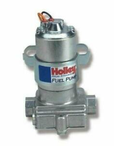 Holley 12 812 1 Fuel Pump Electric Blue External Inline 110 Gph Gasoline Kit