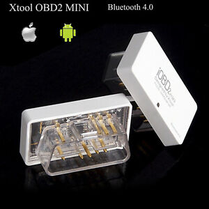 Xtool Mini Iobd2 Obd2 Bluetooth 4 0 Code Reader Scanner For Iphone Ios Android
