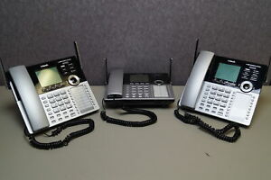 Lot Of 3 Vtech Cm18445 Main Console Expandable Small Business Office Phone