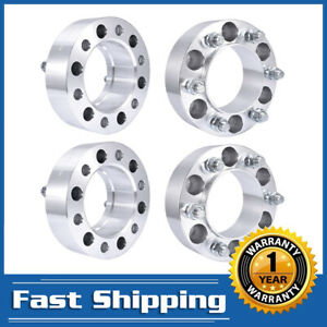 4pcs 2 Hub Centric 6x5 5 14x1 5 Wheel Spacers 106mm For Toyota Tundra Tacoma