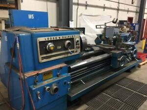 Lodge Shipley 3220 Lathe 1976 Tailstock Threading
