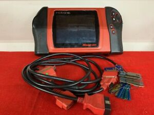 Snap on Modis Eems300 Obd2 Diagnostic Tool W 21 Personality Keys Needs Charger