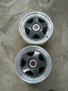 Jjd Twin Tyres Rare 2 Rims Only 16x9 5x4 5 6 Bs Mustang ranger Rears