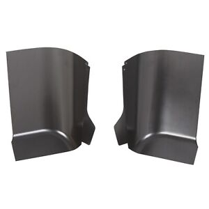 Pair Cab Corners For 2007 2013 Chevy Silverado Gmc Sierra 2 Door Standard Cab