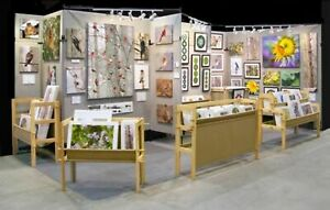 Pro Panel Brand Art Craft trade Show Display 12 Panel Setup And Accessories