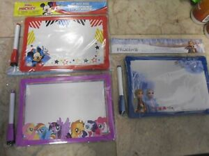 Disney Licensed Character Dry erase Boards Mickey Mouse Little Pony Frozen Ii